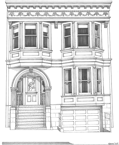 Cole Valley Condominium, 277 Frederick Street, San Francisco